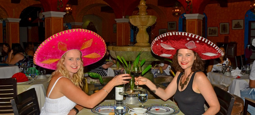 Hola Mexico!  Birthday celebrations in Cancun.