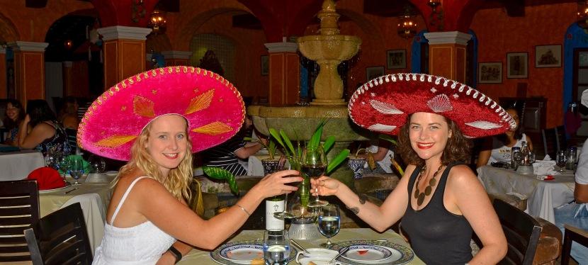 Hola Mexico!  Birthday celebrations inCancun.