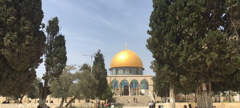 Holy Land #2 – Mohammed on the Hill
